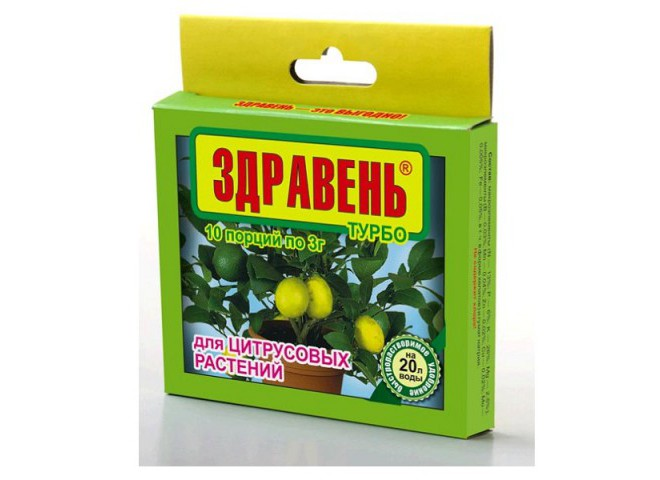 Здравень турбо для цитрусовых 10x3 г