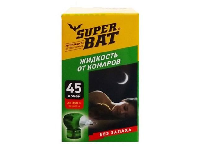 Super Bat флакон от комаров 45 ночей