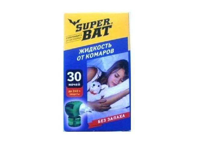 Super Bat флакон от комаров 30 ночей