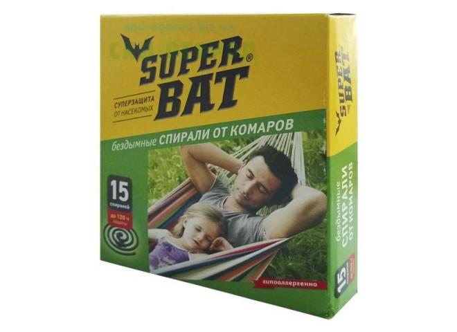 Super Bat Спирали зеленые от комаров
