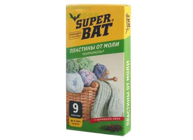 Super Bat Пластины от моли хвоя
