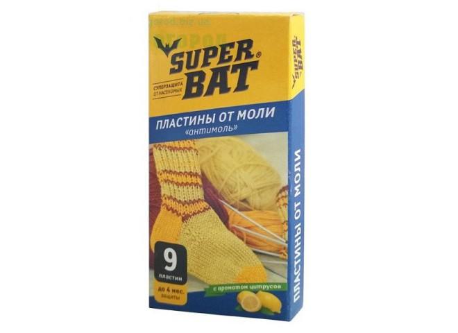 Super Bat Пластины от моли цитрус