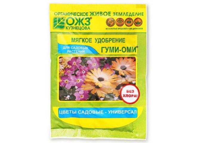 Гуми-Оми Универсал для садовых цветов 50 гр