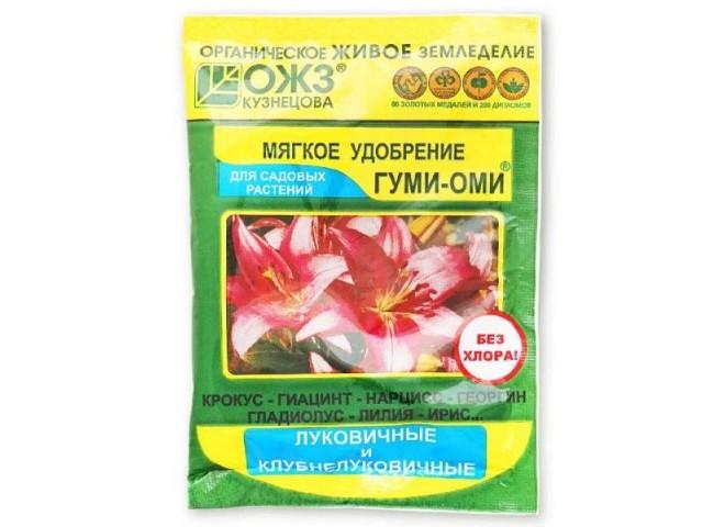 Гуми-Оми для луковичных и клубнелуковичных цветов 50 гр