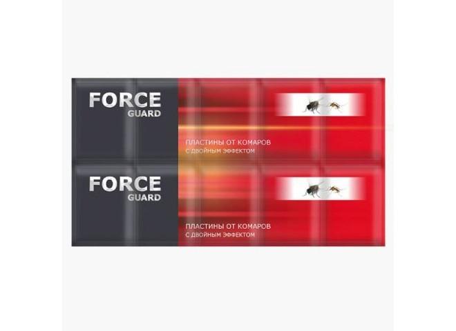 Force guard пластины от комаров с двойным эффектом красные