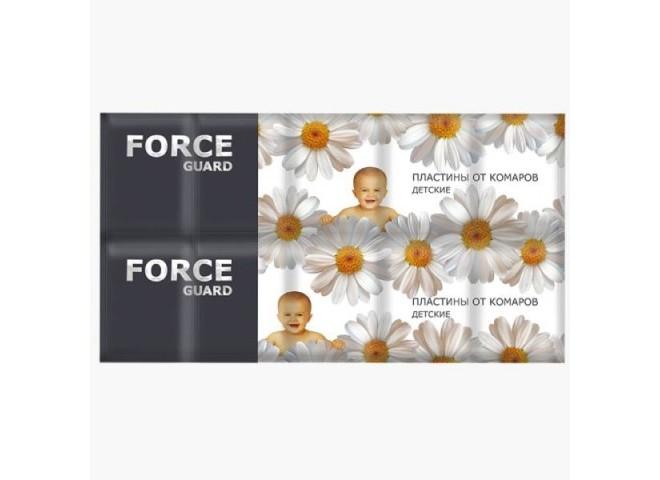 Force guard пластины от комаров Детские