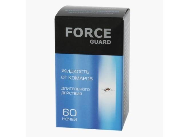 Force guard жидкость от комаров Длительного действия синяя 60 ночей