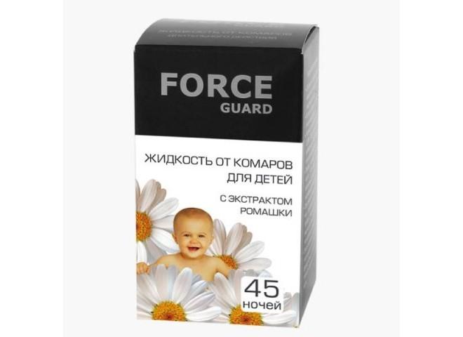 Force guard жидкость от комаров Детская 45 ночей
