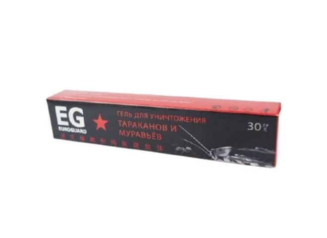 EG euroguard гель от тараканов и муравьев шприц-инъектор EXPORT 30гр (Д.В.- диазинон)