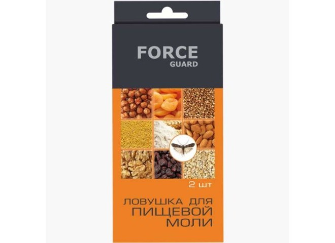 Force guard ловушка для пищевой моли 2 шт (2 ловушки в упаковке)