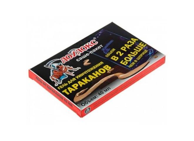Дохлокс гель от тараканов 40 мл (пакет-саше)