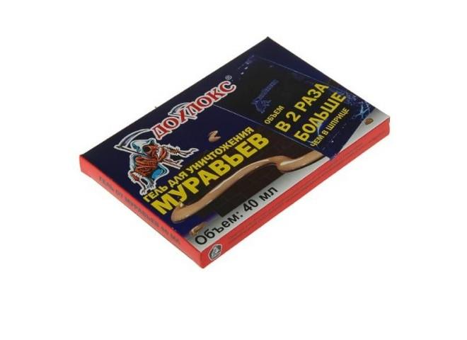 Дохлокс гель от муравьев 40 мл (пакет-саше)