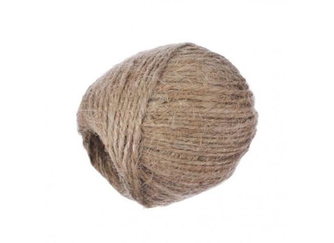 Шпагат джутовый 100м (2 нити, 2 мм)