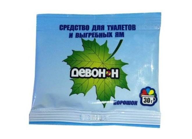 Девон-Н  для садовых туалетов и биотуалетов пакет 30гр