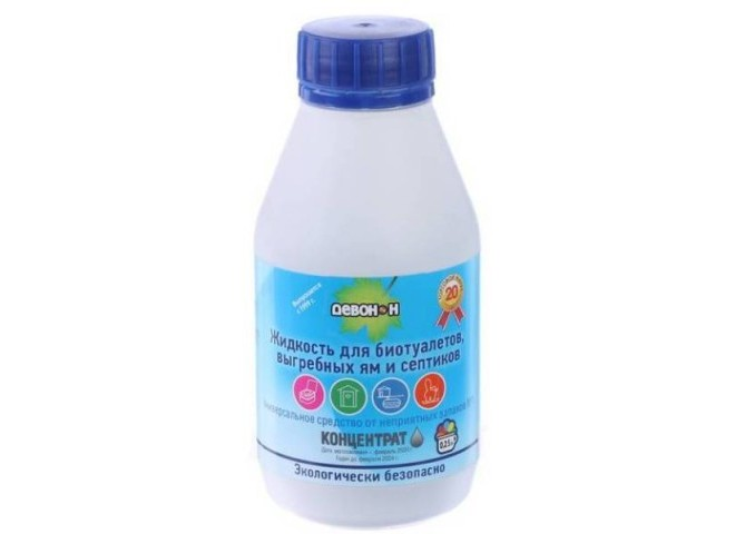 Девон-Н  для садовых туалетов и биотуалетов  0,5л