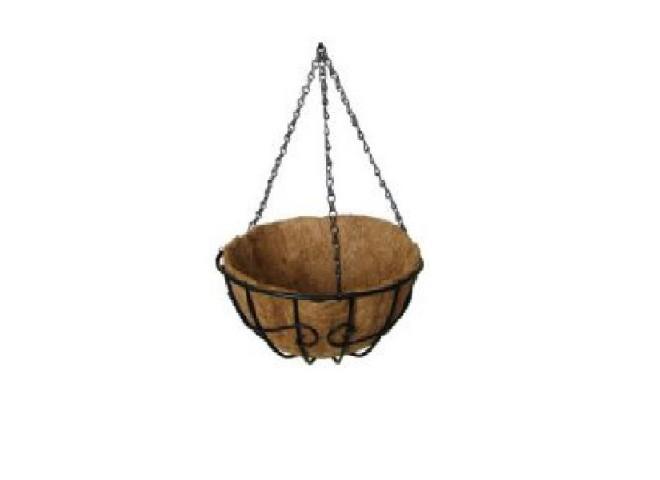 """Кашпо подвесное коковита сфера """"Узор-2"""" диаметр 30 см"""