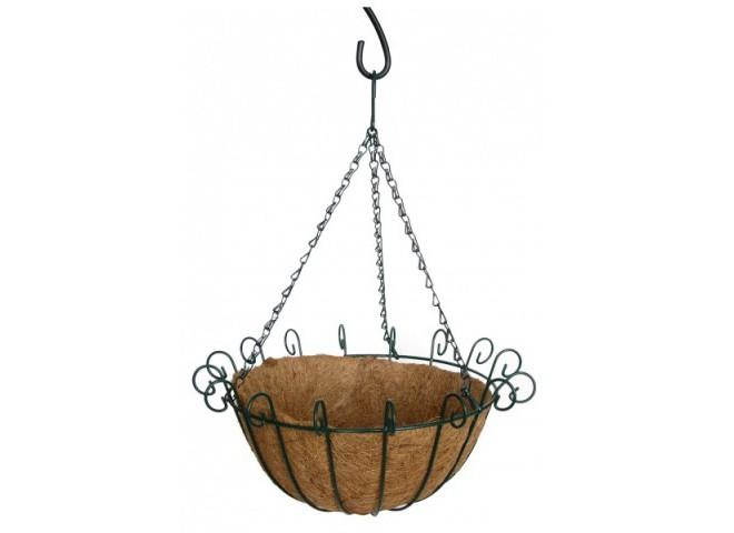 Кашпо коковита подвесное  сфера фигурная, d 30 см