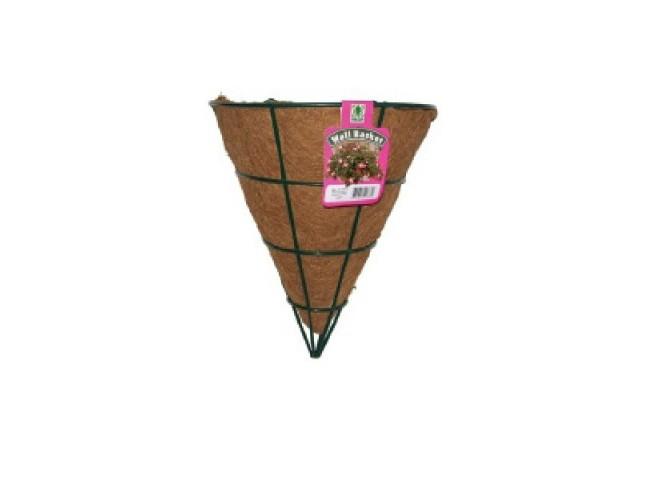 Кашпо коковита настенное  конус d 30 см