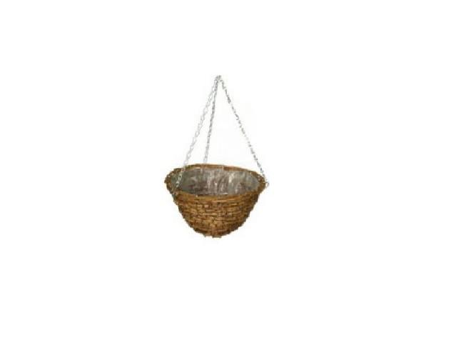 Кашпо плетеное сфера d 30 см