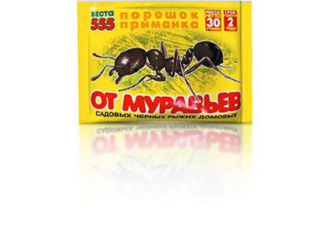 ВЕСТА-555 порошок-приманка 30г от муравьёв