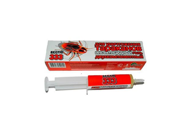 ВЕСТА-333 гель от тараканов и муравьев 25 г
