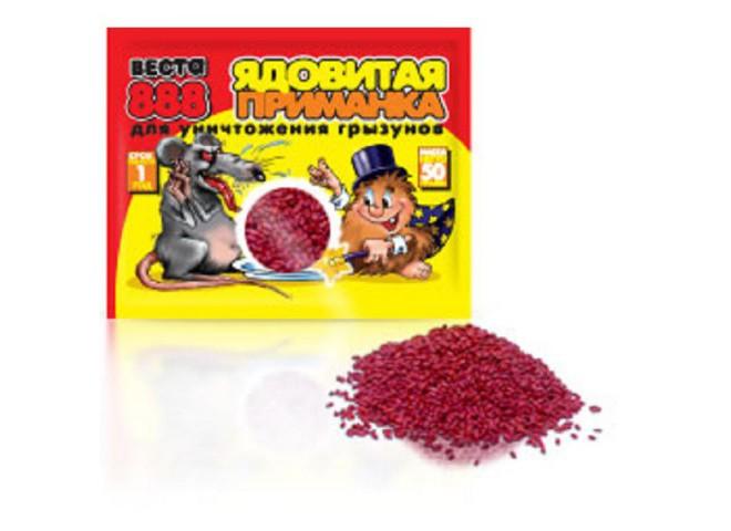 ВЕСТА-888 зерновая приманка 150 г в пакете