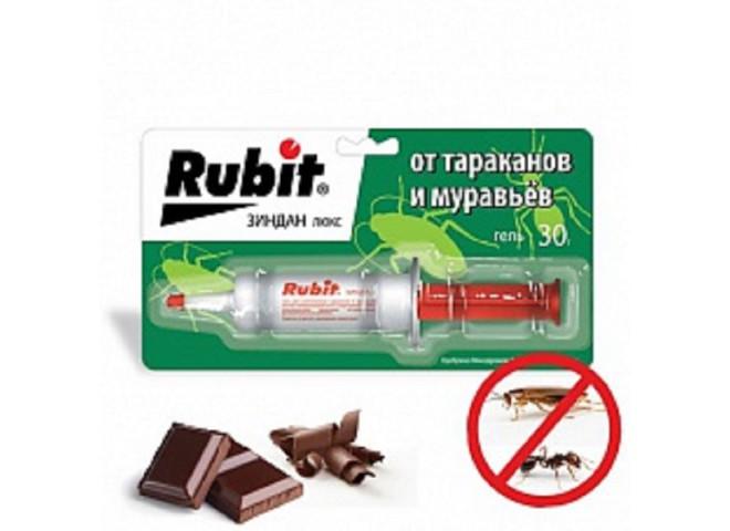 Рубит ЗИНДАН гель люкс от тараканов и муравьев 30 г