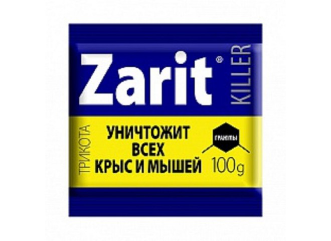 Зарит ТриКота гранулы КИЛЛЕР 100 г
