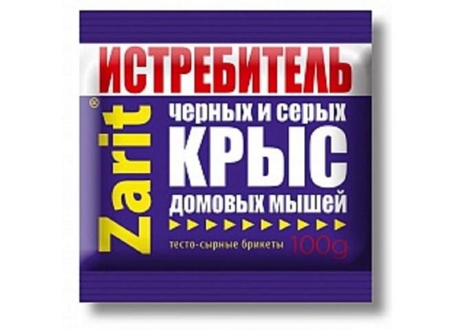 Зарит ТриКота ИСТРЕБИТЕЛЬ тесто-сырные брикеты 100 г