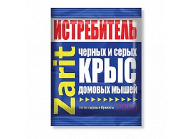 Зарит ТриКота ИСТРЕБИТЕЛЬ тесто-сырные брикеты 200 г