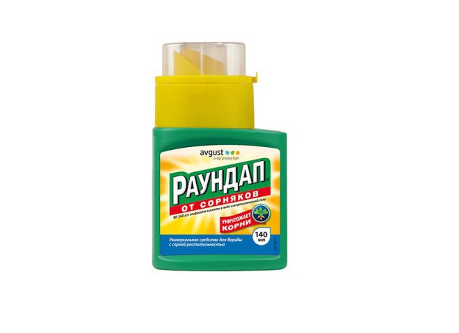 Раундап ВР Monsanto флакон 140 мл