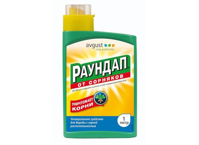 Раундап ВР Monsanto флакон 1 л
