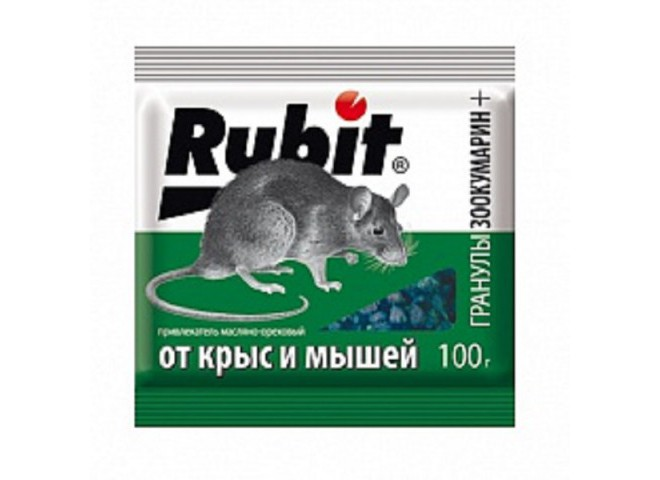 Рубит ЗООКУМАРИН+ гранулы 100 г ореховый