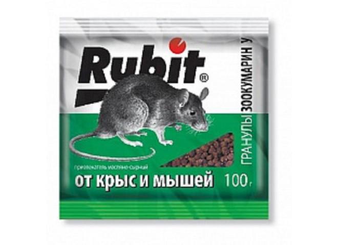 Рубит ЗООКУМАРИН+ гранулы 100г У сырный