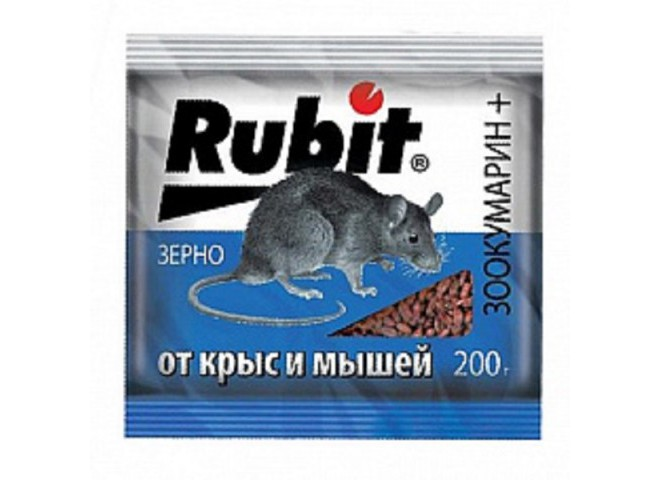 Рубит ЗООКУМАРИН+ зерно 200 г