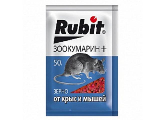 Рубит ЗООКУМАРИН+ зерно 50 г