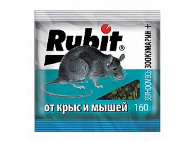Рубит ЗООКУМАРИН+ зерновая смесь 160 г
