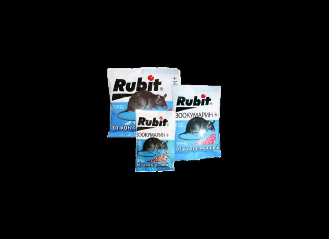Рубит ЗООКУМАРИН+ зерновая смесь 400 г в пакете