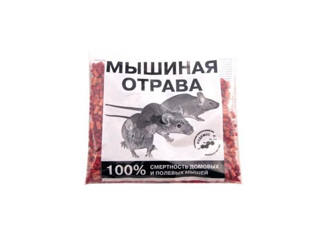 МЫШИНАЯ ОТРАВА зерно гранулы 150 г
