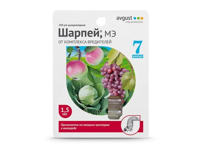 Шарпей МЭ Упаковка 7x1.5 мл
