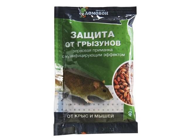 ДОМОВОЙ Зерно от грызунов 40 г