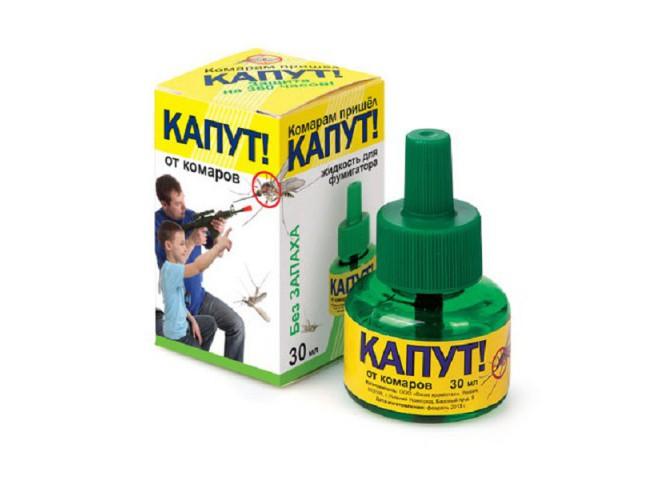 КАПУТ Жидкость от комаров 30 мл