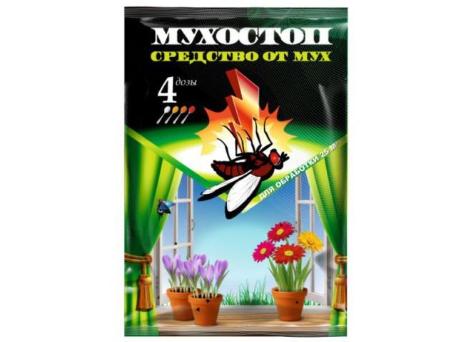 МУХОСТОП - Средство от мух 10 г