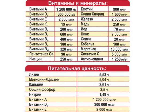 ПРЕМИКС ГИГАНТ 300 г