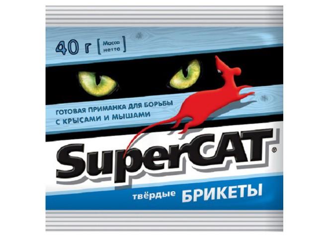 SUPERCAT брикет парафиновый 40 г