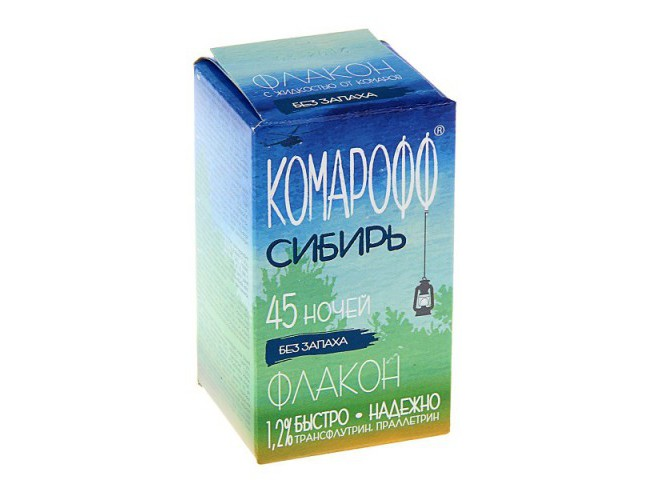 КОМАРОФФ СИБИРЬ жидкость 30 мл без запаха