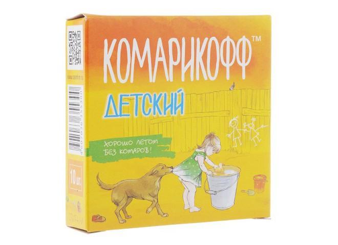 КОМАРИКОФФ ДЕТСКИЙ Спирали Мини 10 шт