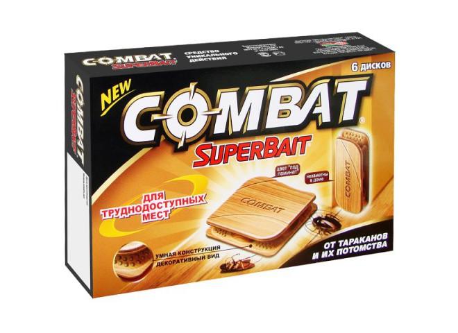 КОМБАТ Super Bait декоративные ловушки 6 шт