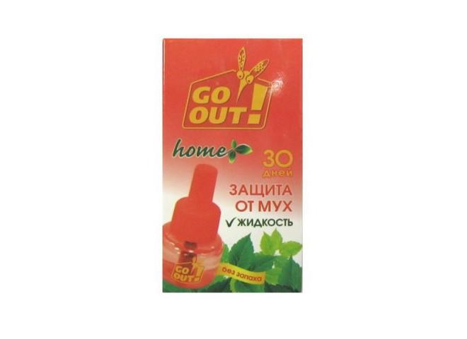 GO OUT Жидкость от мух без запаха 30 мл