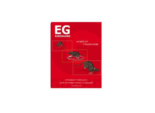 EUROGUARD клеевая ловушка от крыс и мышей